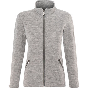 Ivanhoe of Sweden Bella Full-Zip Jacket Women grey marl